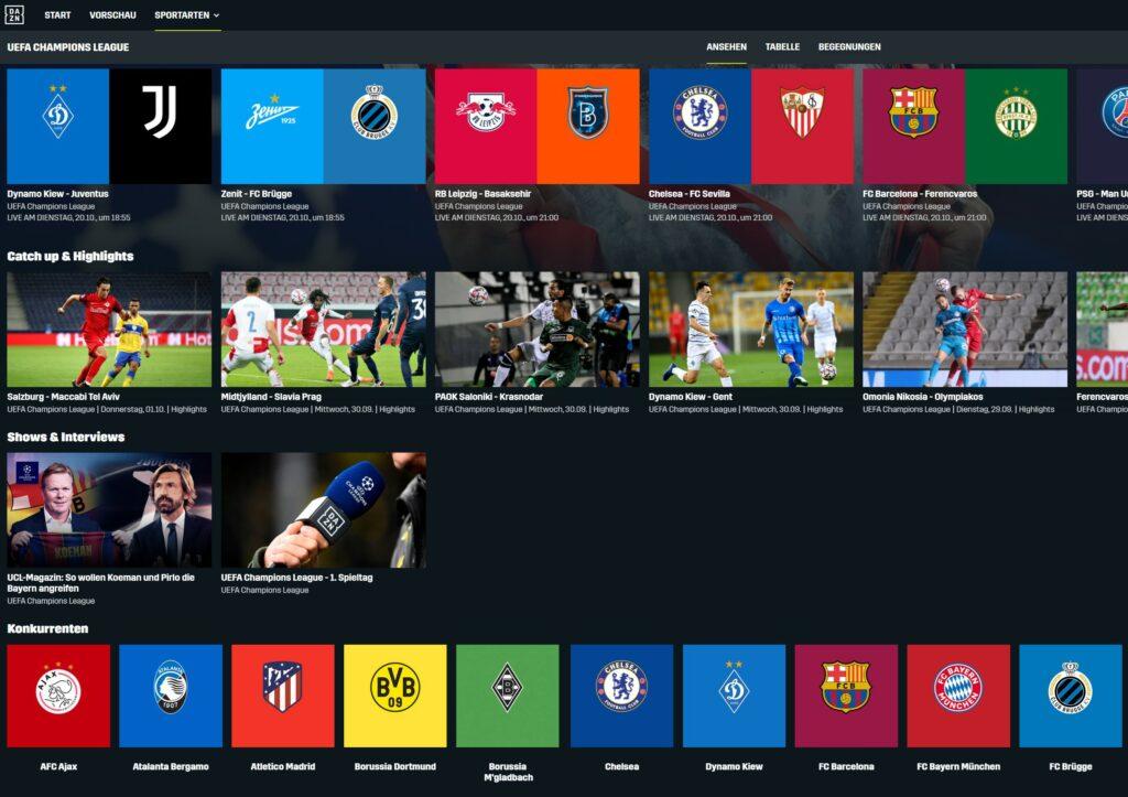 dazn-champions-league-screenshoz